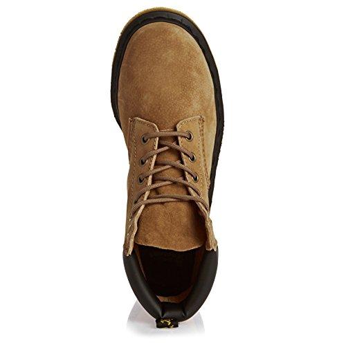 Dr.Martens 939 6 Eyelet Soft Buck Tan Womens Boots Tan