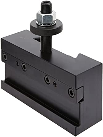 """Dorian Tool D7-71C Extra Heavy Duty Chromium Molybdenum Alloy Steel Quick Change Reversible Cut-Off Blade Toolholder for SDN50DA Super Quick Change Tool Post and 1-1/4"""" Blades, 6"""" Width, 2"""" Height"""