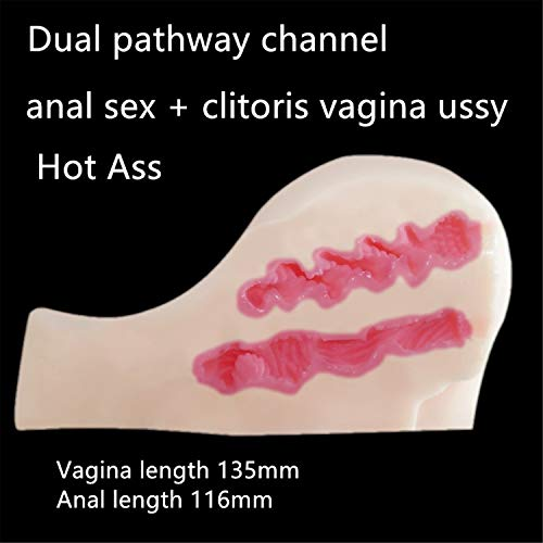 Realistic Sex Dolls Big Ass Pussy Sex Toys for Men Real Adult Doll Hot Ass Anal Sex+ Clitoris Vagina Pussy Lifelike Hip by Dayed Sex Shop (Image #3)