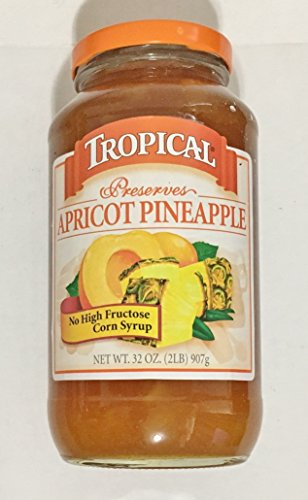 eapple Preserves 32 Ounce, Pack of 1 (Apricot Pineapple Jam)