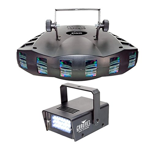 Chauvet Derby X 8 Ch Dmx Led Derby Effect Light