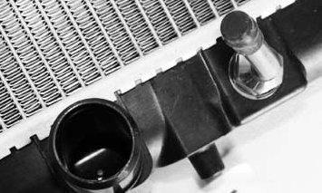 TYC 2806 Honda Odyssey 1-Row Plastic Aluminum Replacement Radiator