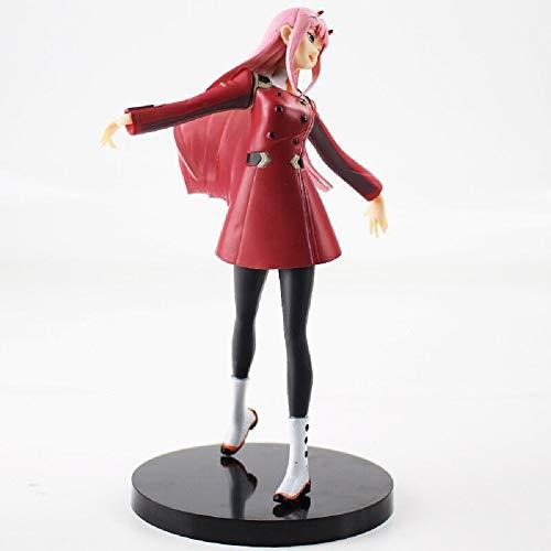 NEVASTORE 20cm Darling in The Franxx Figure Toy Zero Two 02 EXQ Partner Killer Anime Beauty Model Dolls (No Box)