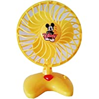 BabyBaba Cute Mini Small Baby Toy Fan -Battery Operated (Colour May Very)
