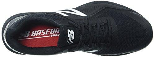 Nuovo Equilibrio Mens T4040v4 Turf Scarpe Da Baseball Nero / Bianco