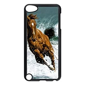 HOPPYS Customized Print Horse Pattern Hard Case for iPod Touch 5