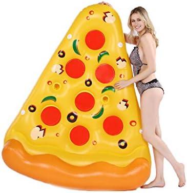 SVNA Colchoneta Hinchable Pizza Flotante Inflable Gigante, Piscina ...