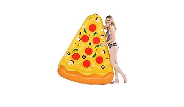 SVNA Colchoneta Hinchable Pizza Flotante Inflable Gigante ...