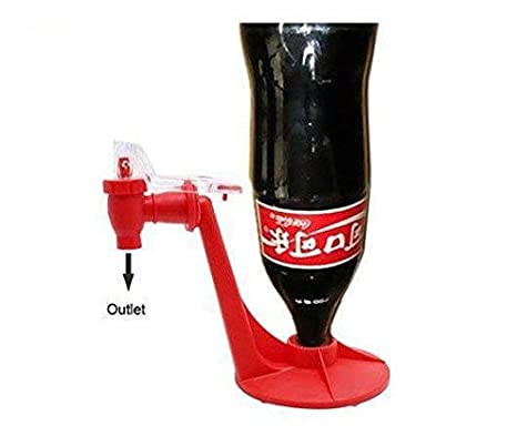 Casa Coque de bebidas jugo de bebida Pepsi Soda Pop dispensador de agua botella Holder: Amazon.es: Hogar
