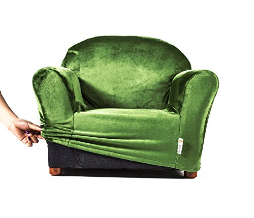 keet roundy kids chair cover only, 9 colors available (green)