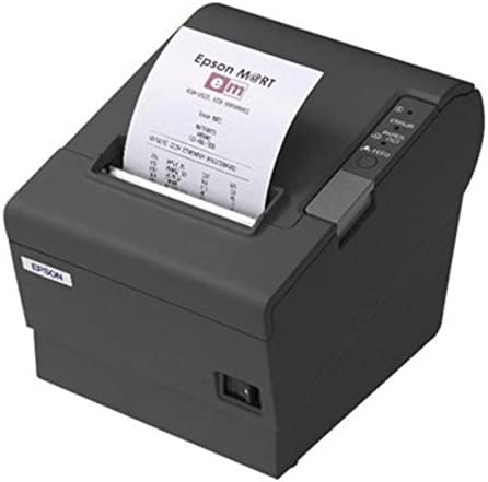 Epson TM-T88V (833) - Impresora térmica de Recibos, Color Negro ...
