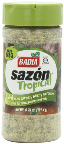 Badia Sazon Tropical, 6.75-Ounce (Pack of 6) by Badia