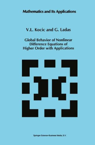 Global Behavior of Nonlinear Difference Equations of Higher Order with Applications (Mathematics and Its Applications)