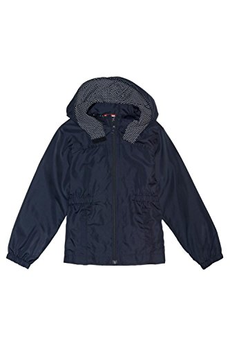 French Toast Little Girls' Transitional Jacket, Navy, X-Small/4/5 by French Toast