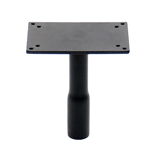 Birdhouse Bracket - Achla Designs Pole Top with Square Birdhouse Flange