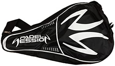 Padel Session Funda Negro Blanco: Amazon.es: Deportes y aire libre