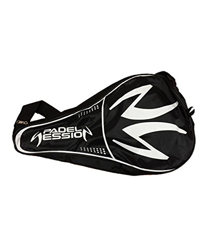 Padel Session Funda Negro Blanco