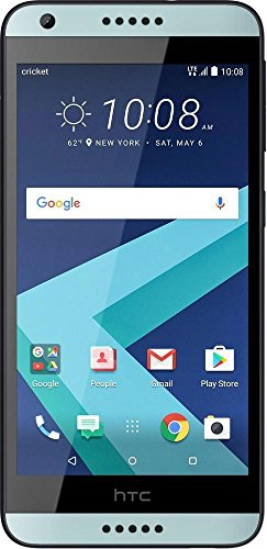Cricket Wireless - HTC Desire 550 4G LTE with 16GB Memory Prepaid Cell Phone - Black by Cricket Wireless (Image #2)