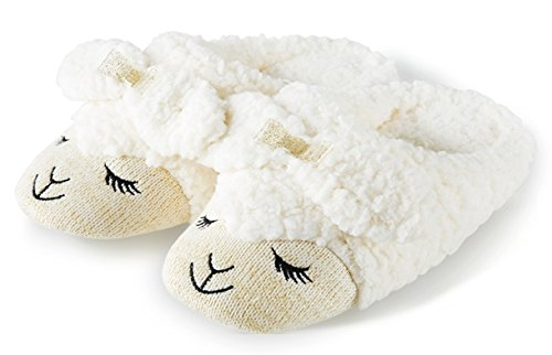 Bath & Body Works COUNT SHEEP Slippers LARGE fits size 8-...