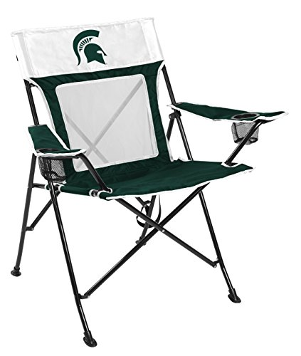 Michigan State Green - Rawlings NCAA Michigan State Spartans Unisex 00643038111NCAA Game Changer Chair (All Team Options), Green, Adult