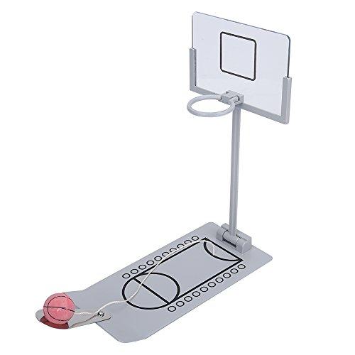 ミニバスケットゴール バスケットボールゲーム 折り畳み式 小型 卓上で遊べるテーブルゲーム ストレス解消 リラックスおもちゃ