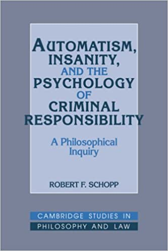 Psychology and responsibility?