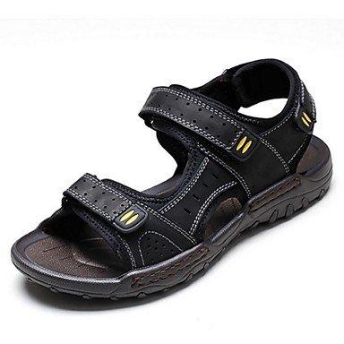 SHOES-XJIH&Gli uomini del foro di sandali di gomma Scarpe estive di acqua all'aperto foro scarpe scarpe tacco piatto verde nero/rosso kaki blu royal,blu royal,US8 / EU40 / UK7 / CN41