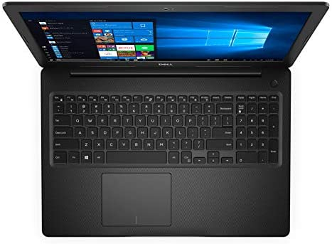 "Dell Inspiron 3000 Series 15.6"" HD Notebook - Intel Celeron 4205U 1.8GHz - 4GB RAM 128GB PCIe SSD - Webcam - Windows 10 Home in S Mode, Black"