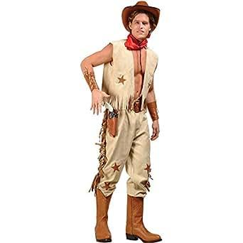 Men's Sexy Cowboy Costume (Size:Medium 36-38)
