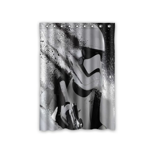 Scottshop Custom Star Wars Window Curtain Thermal Insulated Blackout Window Curtains Drapery/Panels/Treatment Polyester Fabric 52″ x 72″ Inch