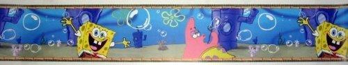 [Spongebob Squarepants Removable Wall Border] (Spongebob Wall Border)
