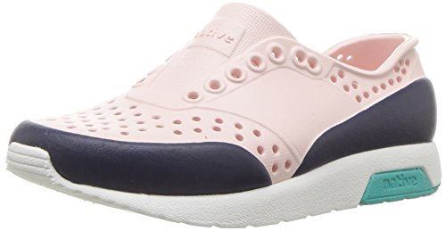 native Kids Unisex-Kids Lennox Block Child Sneaker, Cold Pink/Shell White/Glacier Green/Regatta Blue Block, 13 Medium US Little Kid by native