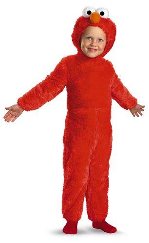Disguise Elmo Plush Deluxe Child Costume