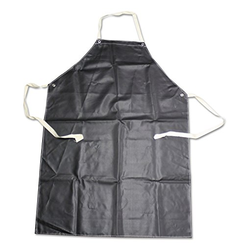 Boss 4RC0104 Aprons, Polyester/Rubber/Natural Cotton, 35'' x 45'', Black by BOSS
