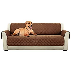 Amazoncom pet sofa cover quilted pet throw furniture for Furniture covers for pets amazon