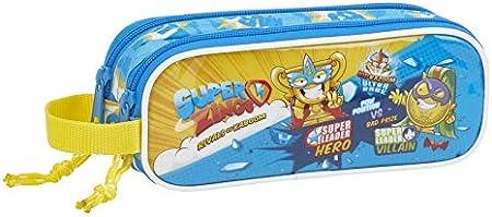 Super Zings Estuche portatodo Doble 2 Cremalleras Escolar: Amazon.es: Equipaje