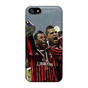 Special KKFAN Skin Case Cover For Iphone 5/5s, Popular Robinho Boateng Phone Case