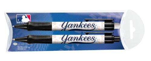 National Design New York Yankees Grip Pen and Pencil Set in Pillow Pack (11014-GCV)