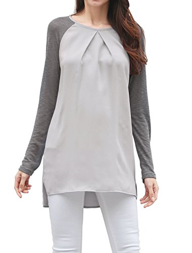 Allegra Womens Chiffon Raglan Sleeves product image