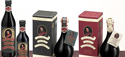 Duke's Balsamic Vinegar of Modena I.G.P., Produced with Organic Grapes ,500ml /16.91 fl.oz [ Italian Import ] 4 Delicious balsamic vinegar from Modena, protected geographical indication! Acidity: 6% Perfect for your salads and many other dishes!