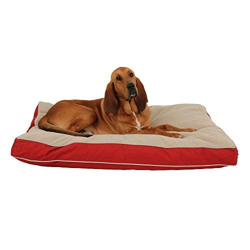 Carolina Pet Company Four Seasons Jamison Pet Bed Barn Red 48x36x4