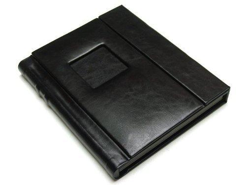 Black 11x14 Self Mount Photo Wedding Album with 20 (Flush Mount Photo Albums)