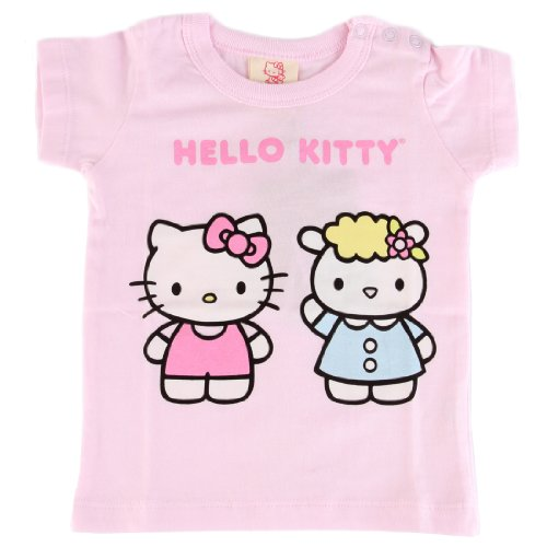 Hello Kitty Organics Baby Girls' Fifi Short Sleeve Snap T-Shirt