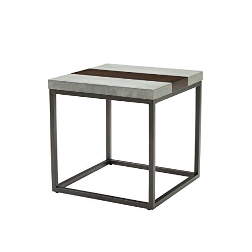 Artum Hill TA1-784 Rockwell End Table, Merlot - Hills Merlot