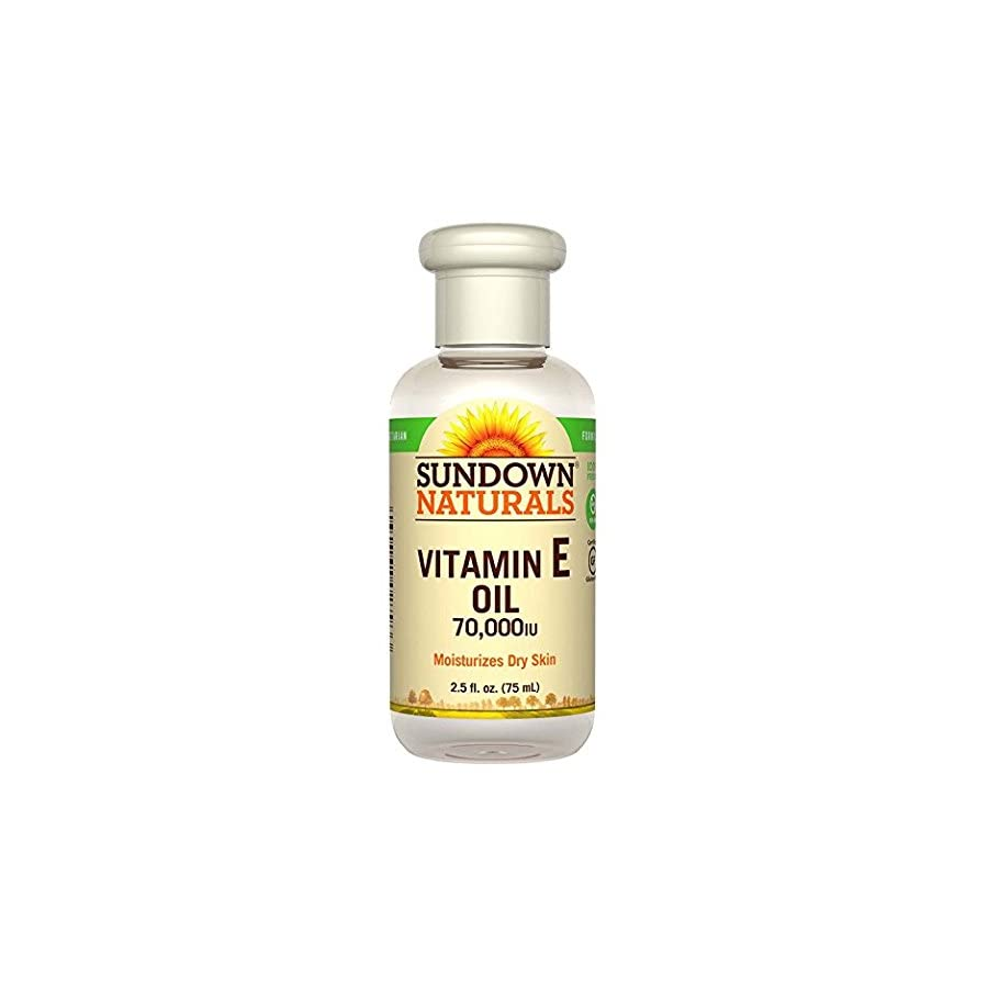 Sundown Vitamin E Oil 70000 IU