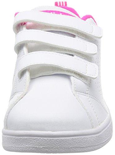 adidas Aw4881, Zapatillas Niños Blanco (Ftwbla / Ftwbla / Rosimp)