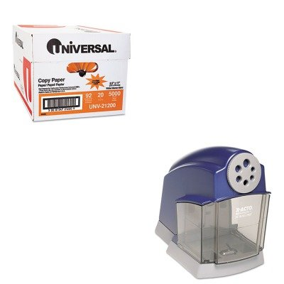 KITEPI1670UNV21200 - Value Kit - X-acto School Electric Pencil Sharpener (EPI1670) and Universal Copy Paper (UNV21200)