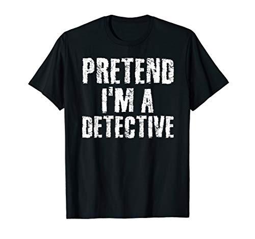 Diy Detective Halloween Costume (PRETEND I'M A DETECTIVE Halloween DIY Costume Party Gift)
