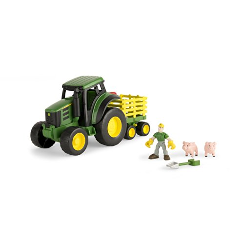 Ertl John Deere Gear Force Tractor Playset