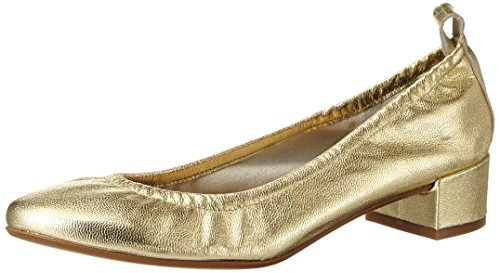 GARDENIA COPENHAGEN Ballerina, Bailarinas Para Mujer Dorado (laminado Gold)